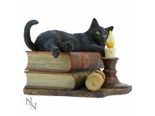 More details for the witching hour lisa parker black cat ornament gift 20.5cm nemesis now gift