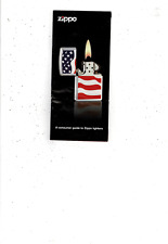 2010 Zippo 19 Page Color Consumer Guide To Zippo Lighters Plus Price List