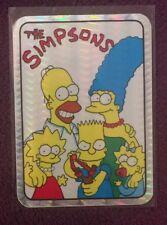 Vtg 90's The Simpsons Homer Bart Marge Lisa Maggie Vending Machine Prism Sticker