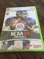 NCAA Football 08 Xbox 360 Cib Game New Sealed XG1