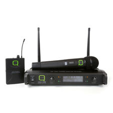 Q AUDIO QWM1932 Portatile Trasmettitore Uhf Microfono Radio Wireless System 863/864