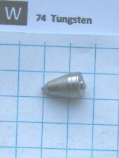 13 gram 99.9% Tungsten metal pin element 74 sample
