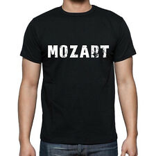 mozart Tshirt, Homme Tshirt Noir, Mens Tshirt black, Cadeau, Gift