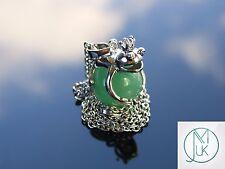 Aventurine Frog Natural Gemstone Pendant Necklace 50cm Healing Stone Chakra