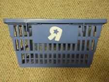 Classic Vintage Plastic Toys R Us SHOPPING BASKET sign Toy Store