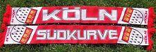 """Köln Schal """"SÜDKURVE"""" Dom Fan Kölle Kurve Block Ultra + NEU + Cologne Fan"""