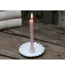 Kerzenhalter Kerzenständer Kammerleuchter Landhaus Shabby Nostalgie Chic Antique