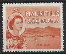 Mint Hinged Cats Mauritian Stamps