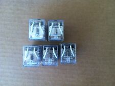 Omron Relay LY2-0 - Lot of 5 Relays