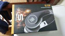 SOUL SL150 by Ludacris  Black/Silver High-Definition On-Ear Headphones