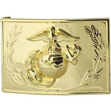 Marine Corps Dress Buckle anodized with emblem and wreath    NEW (USMC Issue)