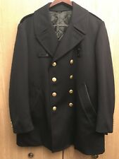 Vintage Men's 100% Wool Insulated Chicago Police Reefer Jacket