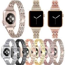 Stainless Steel For Apple Watch 5 4 3 44/40/42/38mm Band Belt Women Metal Watch