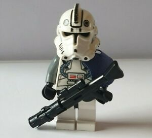 Lego Star Wars - Clone Pilot - Military Police Sargent - Original Lego (P1)