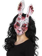 Evil Scary Bunny Halloween Mask Animal Horror Fancy Dress Costume Accessory