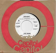THE BAND  Twilight  rare promo 45 from 1976