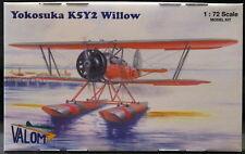 Valom Models 1/72 YOKOSUKA K5Y2 WILLOW Japanese Floatplane Trainer