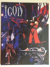 Madonna Fan Club Icon Magazine No.37 with Drowned World Tour lanyard 2002