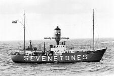 rp15083 - Seven Stones Lightship - photo 6x4