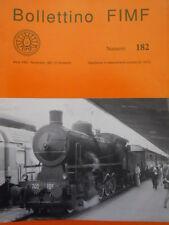 Bollettino treni FIMF n°182 Rievocazione locomotori trifasi Gr. E 331 E  [TR.33]