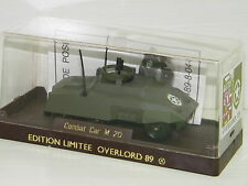 SOLIDO - COMBAT CAR M20 US (SERIE LIMITEE OVERLORD 89)