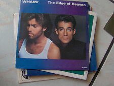 """7"""" WHAM THE EDGE OF HEAVEN HOLLAND PRES MINT"""