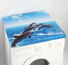 Waschmaschinenüberzug Waschmaschinen Delphin Abdeckung Waschmaschine Trockner