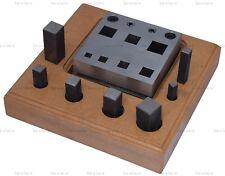 7 disco d'acciaio a forma di quadrato TAGLIERINA 6 mm - 16 mm Gioielli Modelli Designs