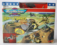 RARE VINTAGE 1994 MICRO MACHINES BATTLE ZONES THUNDER CROSSING GALOOB NEW SEALED