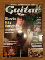 GUITAR & BASS MAGAZINE VOL.25 NO.11 ( AUGUST 2014 ) STEVIE RAY VAUGHAN JOHNNY A