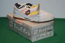 vintage lotto PLAY OFF becker shoes 1991 tennis NOS hi-top