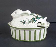 "GORGEOUS NORA FENTON IMPORTS MADE IN ITALY ""RABBIT"" GRAVY/SAUCE TUREEN"