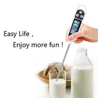 New Instant Read Digital Probe Thermometer Food Cooking Meat Kitchen BBQ Tools