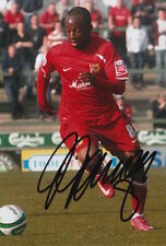 MK DONS HAND SIGNED JEMAL JOHNSON 6X4 PHOTO.