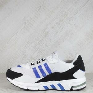 Mens Adidas EQT SN White/Black/Blue Trainers (13C27) RRP £89.99