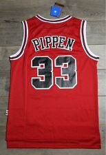 7e033a9e202 Scottie Pippen  33 Chicago Bulls Jersey Throwback Vintage Classic Retro Red  New