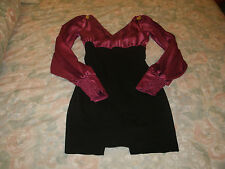 XOXO ladies black & pink dressy dress size 0/0