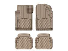 WeatherTech All Vehicle Mats, 4 Piece Tan, 11AVMST Four Piece Floor Mats NIB