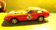 "Hot Wheels 1968 Red Ferrari 365 GTB Daytona Coupe Lt Ed RR 1:43 4"" Die Cast Car"