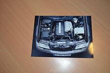 PHOTO DE PRESSE ( PRESS PHOTO ) Mercedes moteur C 220 Turbo Diesel de 1997 ME158