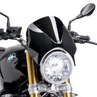 PUIG RETRO SCREEN BMW R NINE T 14-18 BLACK-BLACK