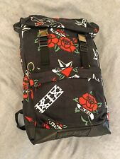 KTZ Kokon To Zai Black/Red/White Retro Tattoo Back Pack/Rucksack RRP: £245