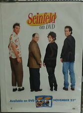 """SEINFELD on DVD Release Date Poster 27"""" X 39"""""""