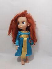 "Disney Store Animators Toddler Doll Princess Merida Brave Movie 16 """