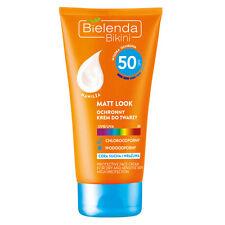 Bielenda BIKINI MATT LOOK Face Cream SPF50 Krem do Twarz po Opalaniu 50ml