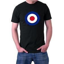 RAF Roundel T-Shirt. Mod, Target Retro  Netherlands Sillytees