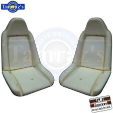 73-77 A Body Front Swivel Bucket Seat Buns / Foam Pair PUI New