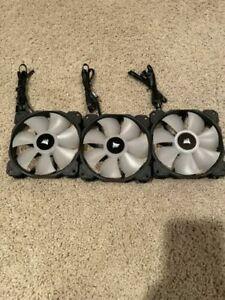 Corsair ML120 RGB PWM (120mm) Fans - 3 Fans