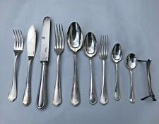FRENCH VINTAGE CHRISTOFLE SILVERPLATE SPATOURS FLATWARE SET