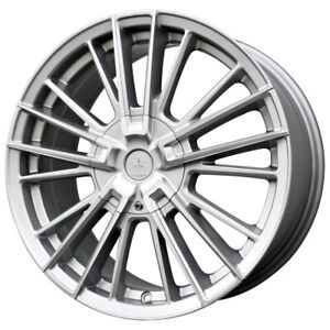 "Verde V10 Influx 16x7.5 5x115/5x105 +40mm Silver Wheel Rim 16"" Inch"